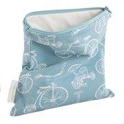 Woombie BGreen Snack Bags Boardwalk Blue, One Size