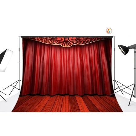 Hollywood Themed Backdrop (HelloDecor Polyester Fabric 7x5ft Hollywood Theme Photo Backdrop photography Backdrop Background studio)