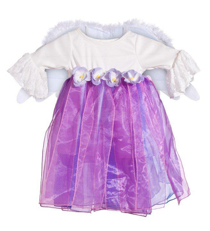 Winged Angel Child Costume Size 3-4 Toddler
