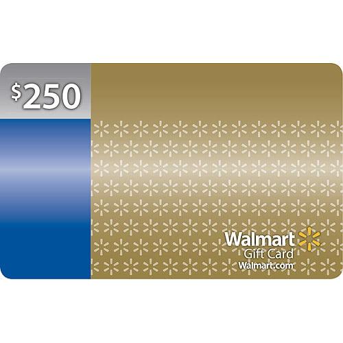 $250 Walmart Gift Card - Walmart.com