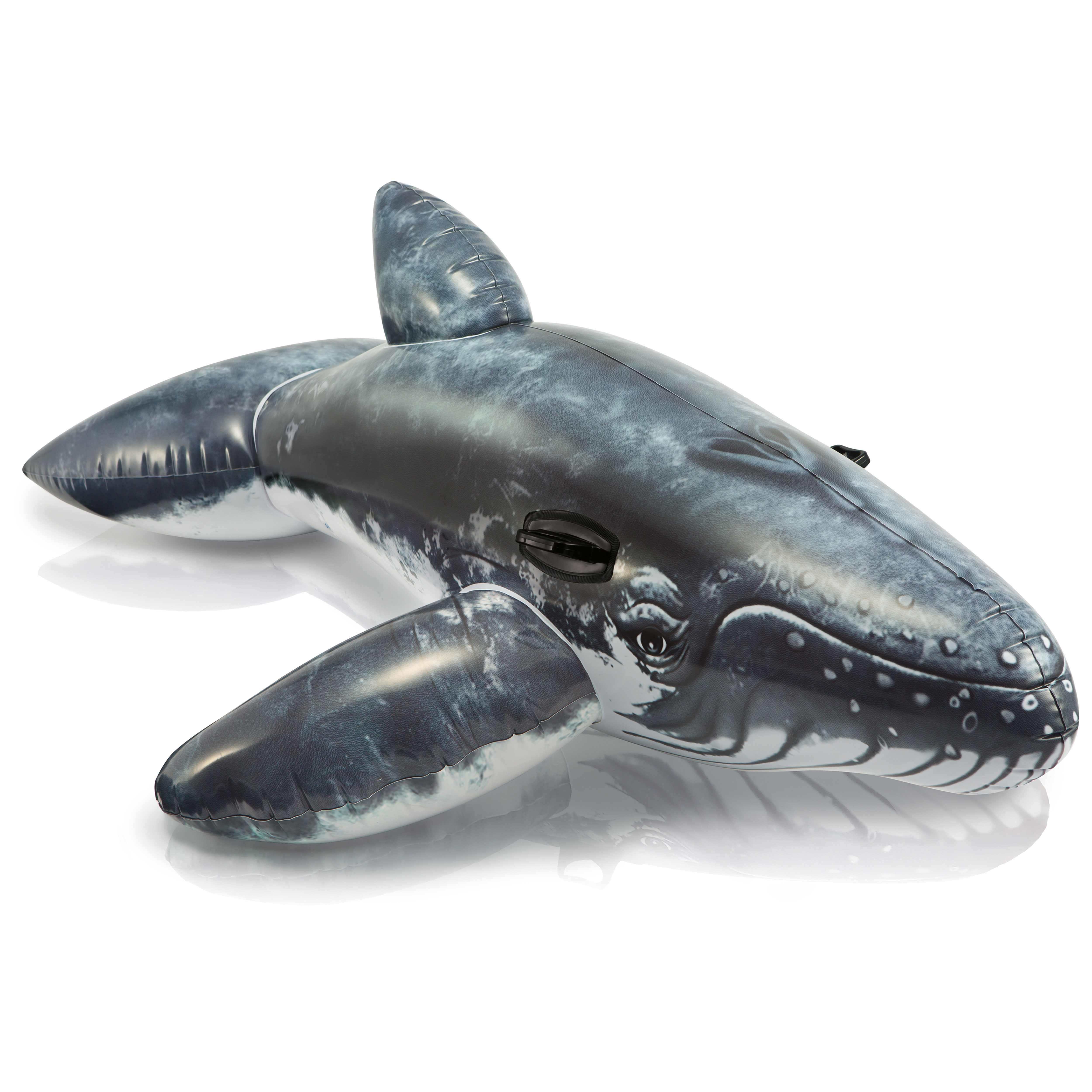 Intex Realistic Whale Ride-On Inflatable Swimming Pool Float - 57530EP