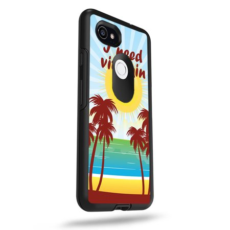 "MightySkins Skin For OtterBox Symmetry Google Pixel 2 XL 5.5"" Case - All Hives Matter 