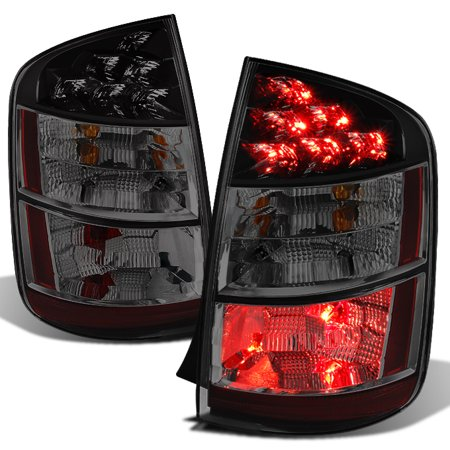 Left Side Tail Lamp Light (Fits 2004 2005 Toyota Prius Left & Right Side [Smoke Lens] Tail Lights Tail)