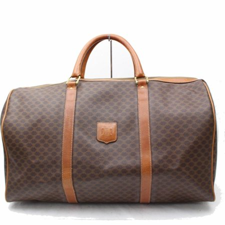Céline Boston Macadam Duffle 865859 Brown Monogram Canvas Weekend/Travel Bag