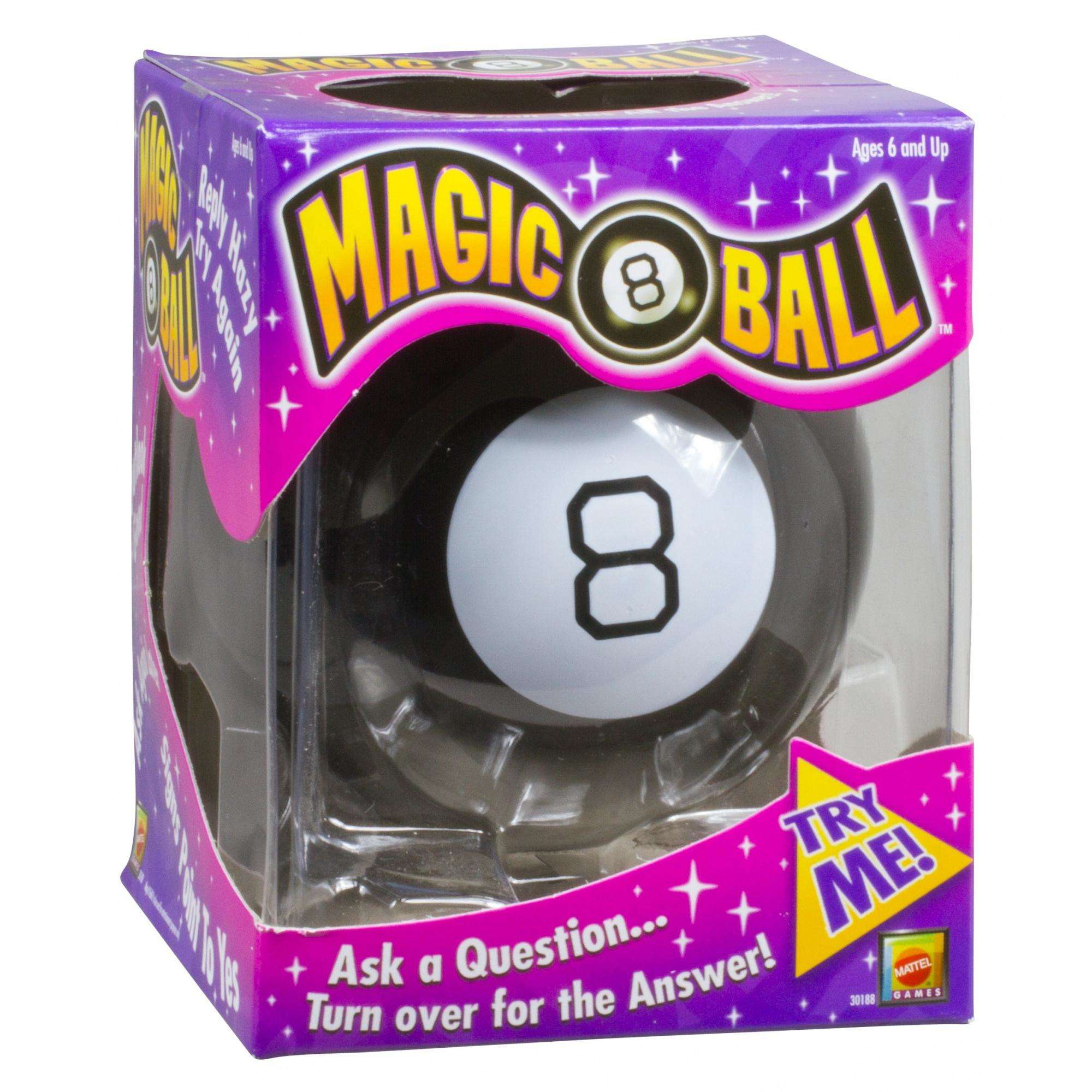 Magic 8 Ball Classic Fortune-Telling Novelty Toy - Walmart.com 5e7a58645f
