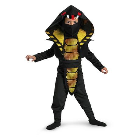Toddler Boy Cobra Ninja Costume Disguise 25975](Cobra Snake Costume)