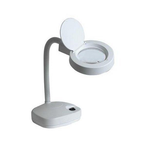 Duratool 8611L Desk Top Led Magnifier Lamp With Flexible Gooseneck 60 Leds by