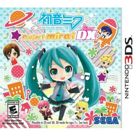 Hatsune Miku: Project Mirai Dx, Sega, Nintendo 3DS, 10086611175