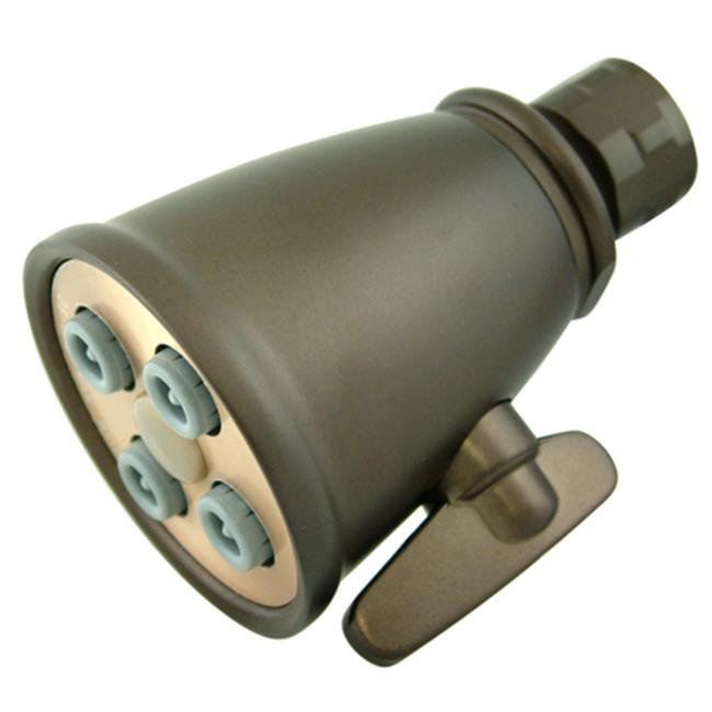 Kingston Brass K137A5 4 Spray Nozzles Power Jet Shower Head - Oil Rubbed Bronze - image 1 of 1