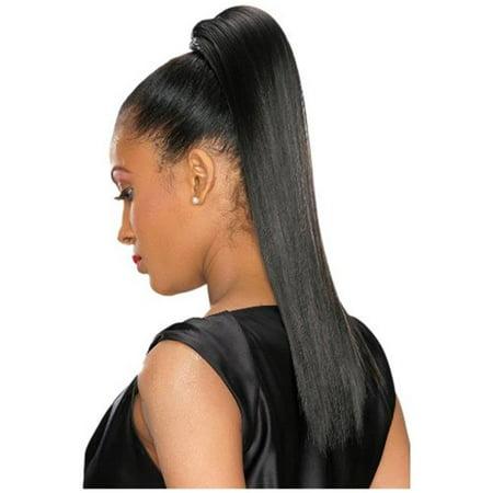 Alicia International 00534 TEAL L-STRAIGHT FALL Wig - Teal Wig