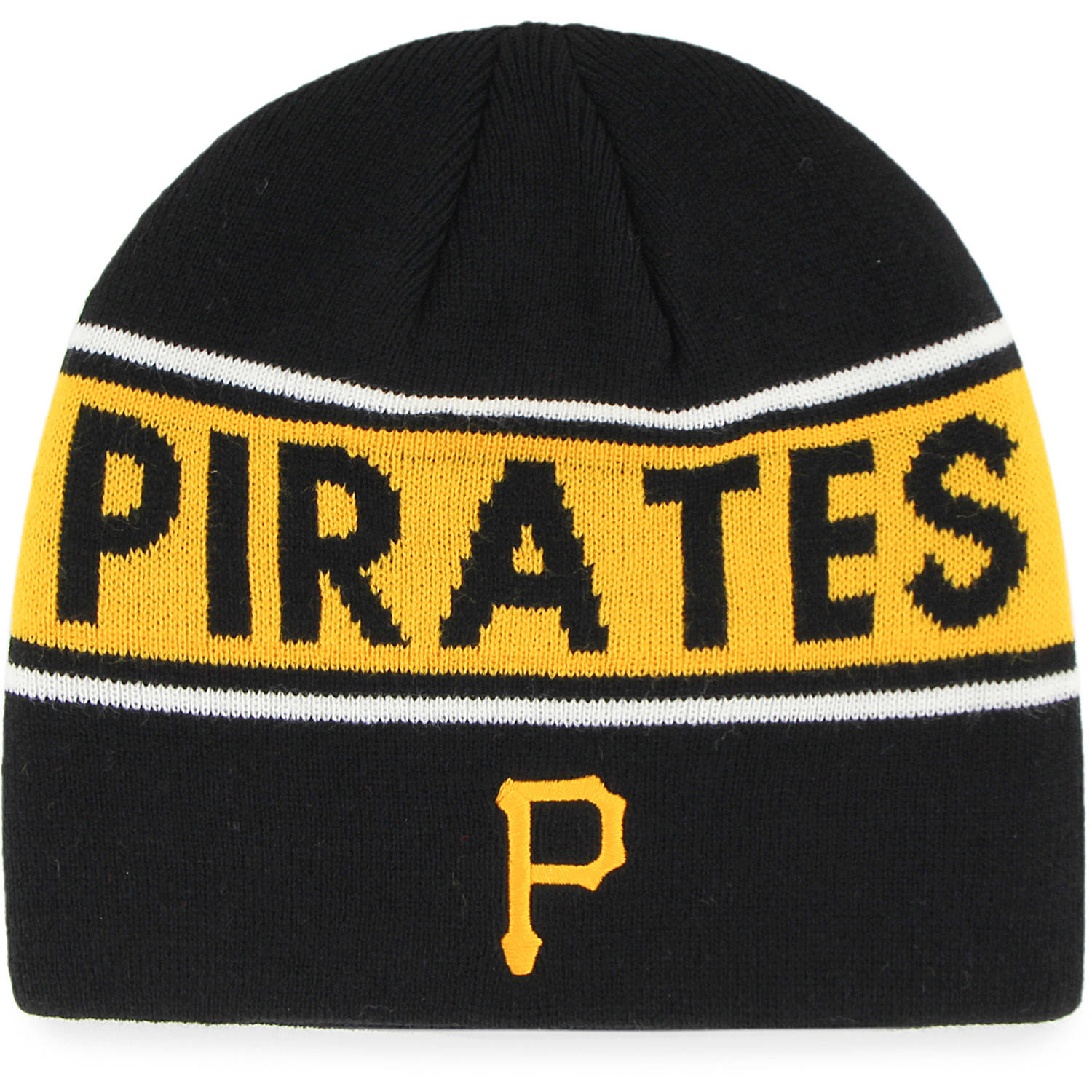 MLB Pittsburgh Pirates Bonneville Knit Beanie by Fan Favorite