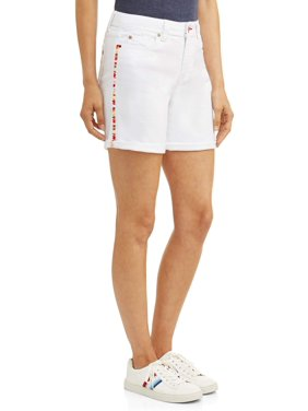 EV1 from Ellen DeGeneres Women's Alex Short with Side Stripe
