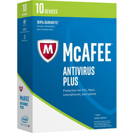 Mcafee Antivirus 2017  10 Devices