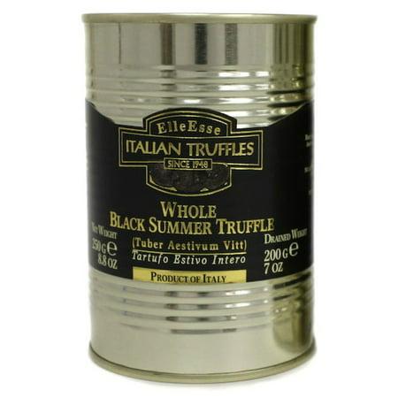 Whole Black Summer Truffles - 8.8oz (250g) 100% Natural Italian Truffle Mushrooms