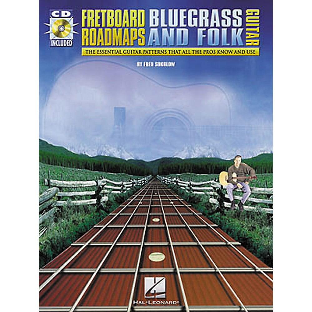 Hal Leonard Fretboard Roadmaps - Bluegrass and Folk Guitar (Book/CD)