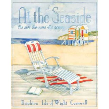 At the Seaside Poster Print by Paul Brent