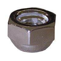 "Pack 100, 5/16"" Nickel Plated Closed Acorn Nut,PartNo C02901 JonesStephens"