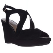 Alfani Womens PELLAE Leather Open Toe Casual Platform Sandals