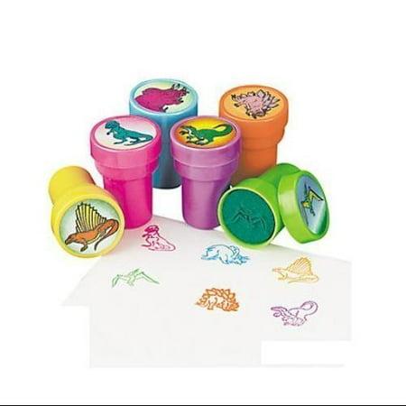 Dinosaur Stamps - Plastic Dinosaur Stampers