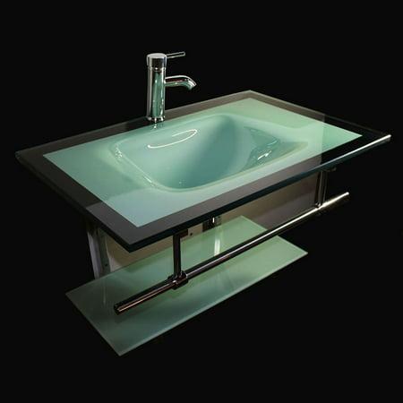 Upc 804879497622 Kokols 31 Single Floating Bathroom Vanity Set Upcitemdb Com
