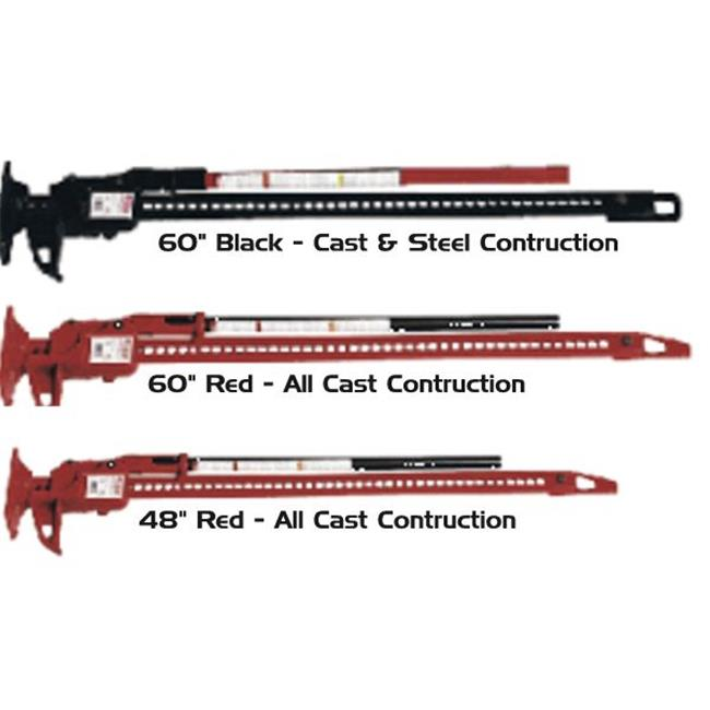 The HiLift Jack (60 inch Red) (OFF-ROAD RECOVERY)