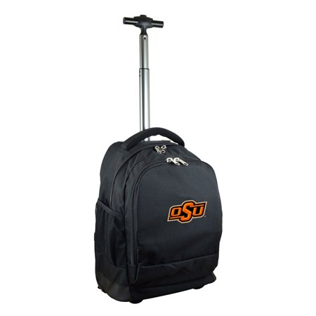 Oklahoma State Cowboys 19 Premium Wheeled Backpack - Black