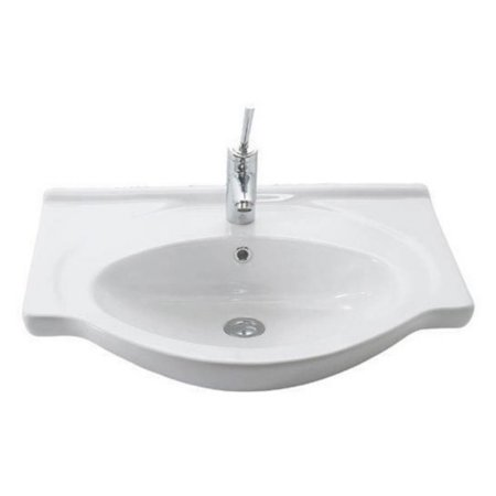0.75 Bath Sink - WS Bath Collections Etol 065 Wall Mount Bathroom Sink