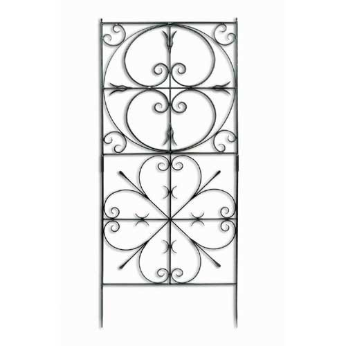 Achla Designs Aldrich Garden 6.25-ft. Iron Trellis by Minuteman/Achla Designs