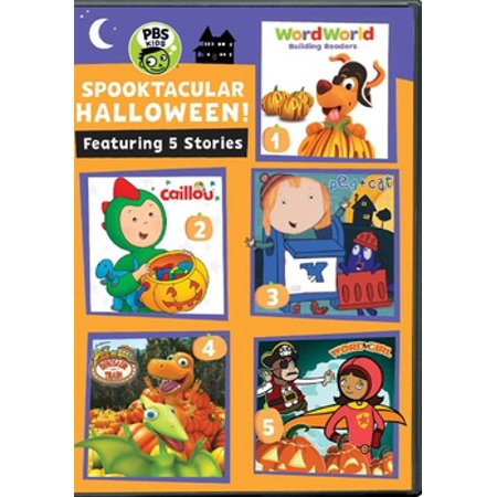 PBS Kids: Spooktacular Halloween (DVD) (Pbs Sb)