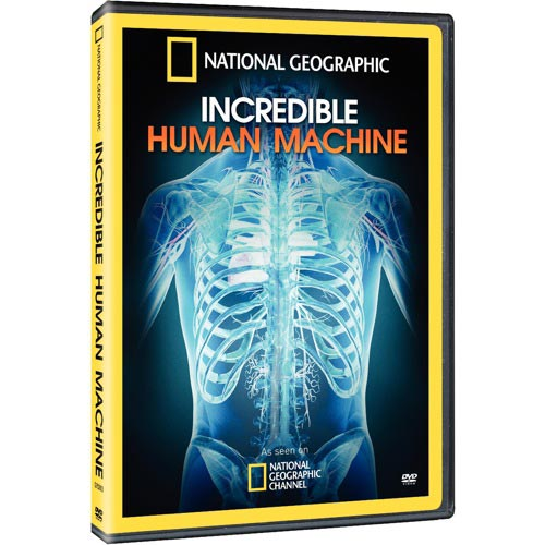 National Geographic Incredible Human Machine [DVD] by