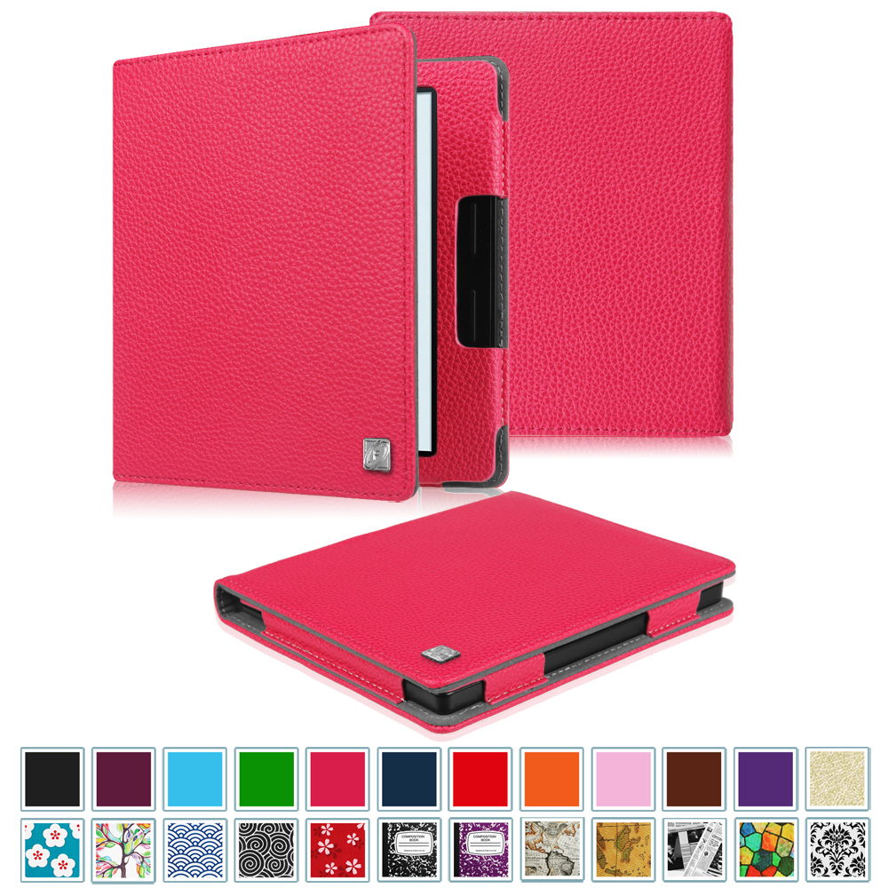 Fintie Folio Case for Kindle Oasis 8th Generation - The Book Style PU Leather Cover with Auto Sleep/Wake, Dont Touch