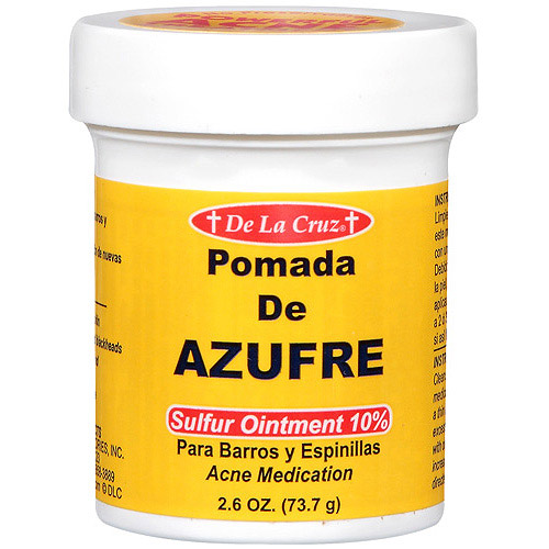 Sulfur acne ointment