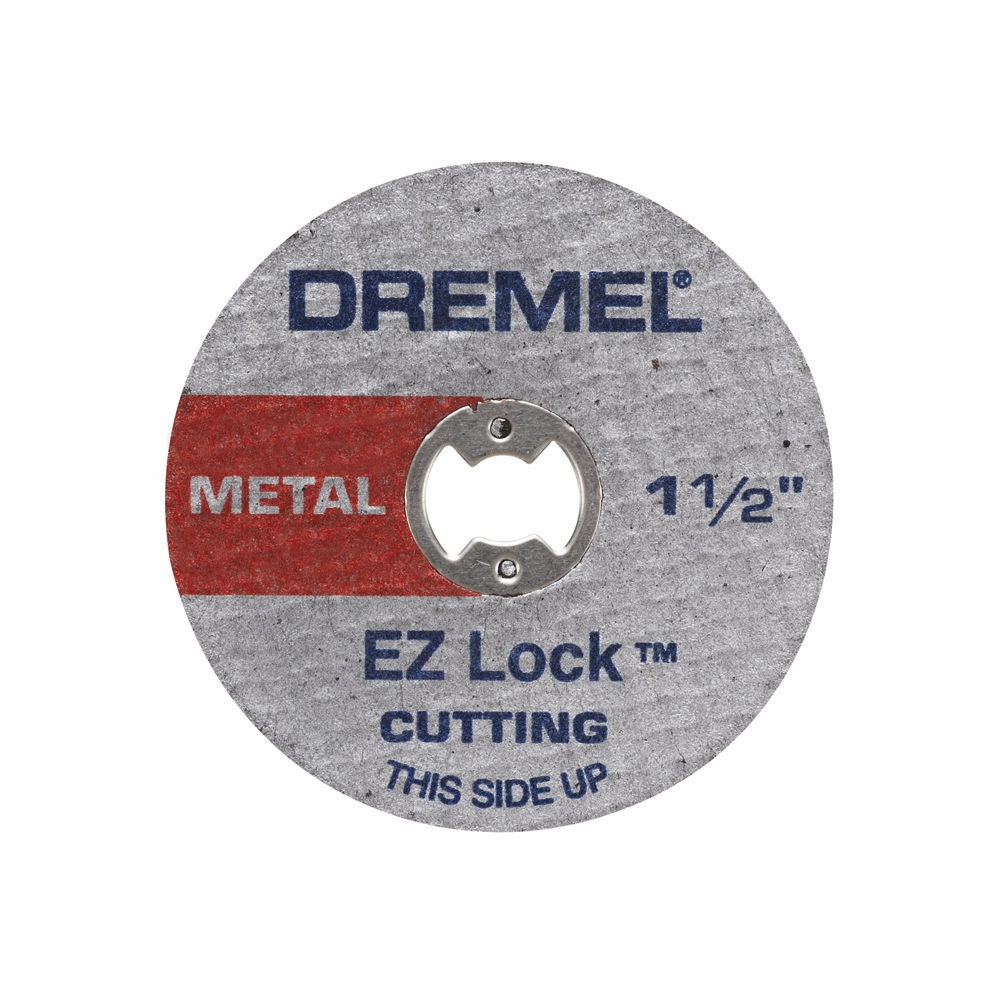 Dremel EZ456 1-1/2 inch EZ Lock Metal Cut-Off Wheels for EZ402 EZ Lock Mandrel, 5-Pack