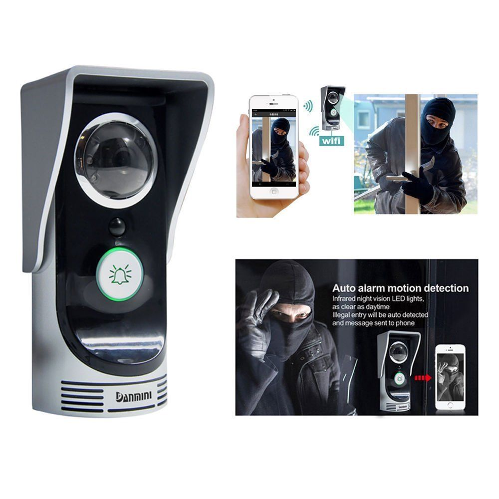 Wifi Video Camera door bell phone wireless doorbell inter...