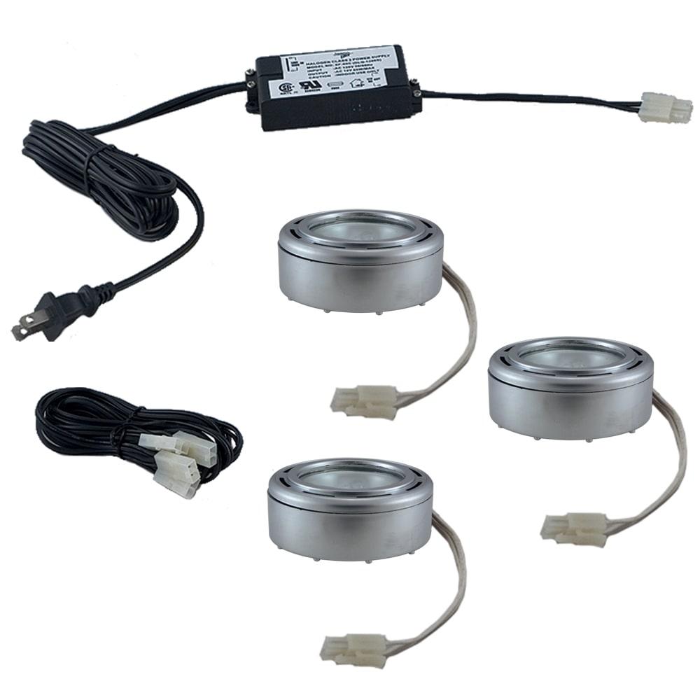 JESCO Lighting Jesco 3-light Halogen Puck Light Kit