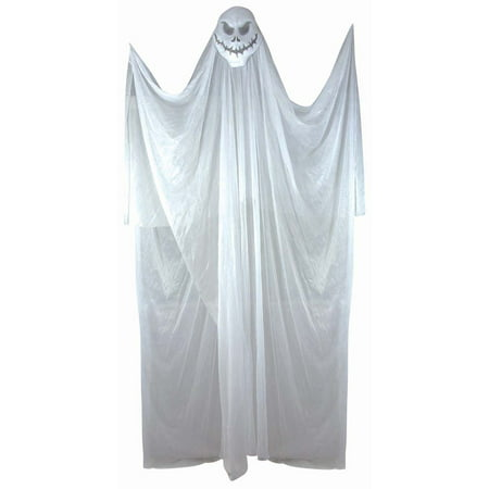 Spooky 5 Foot Hanging Halloween Décor, White Ghost - image 1 de 1