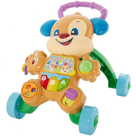 Fisher-Price Laugh & Learn Smart Stages Learn with Puppy (Best Baby Walker For 1 Year Old)