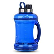 GEEKERBUY 0.9 Gallon Water Bottle Sports Water Jugs Robust 108oz Large Reusable Water Bottles Leak Proof Motivational Plastic Drinking Container for Sport Travel Camping Outdoor