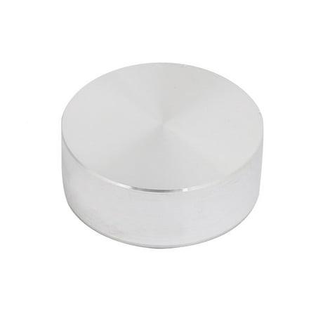 Unique Bargains 4pcs 25mm Dia 10mm Thickness Glass Table Hardware Aluminum Disc w M6x25mm Screw - image 1 de 4