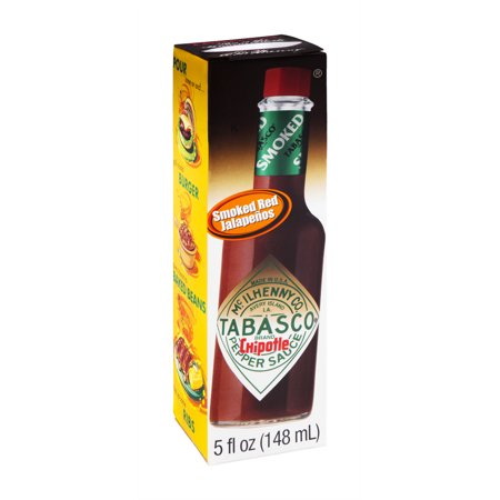 Tabasco brand Chipotle Pepper Sauce, 5 fl oz