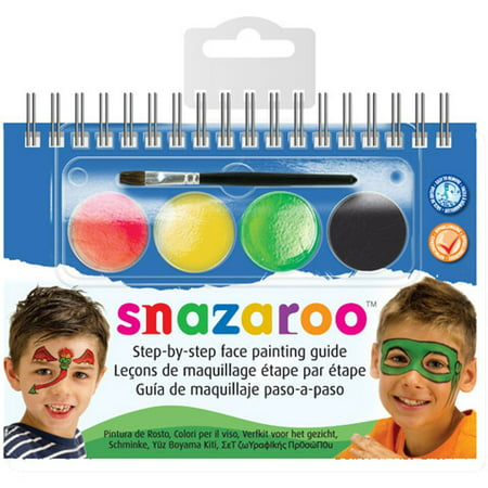 Snazaroo Face Painting Kits: Monster and Heroes Face Paint Kit](Halloween Face Paint Simple Ideas)