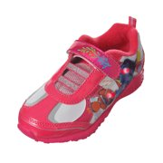 """Finding Dory Girls' """"Nemo & Dory"""" Light-Up Sneakers (Toddler Sizes 7 - 12) - fuchsia/white, 11 toddler"""