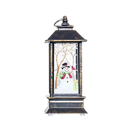 Windproof Candle Holder Ornaments Christmas Lights Candlestick Crafts Home Decor