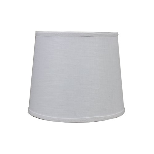 "Image of AHS Lighting 18"" Linen Drum Lamp Shade"