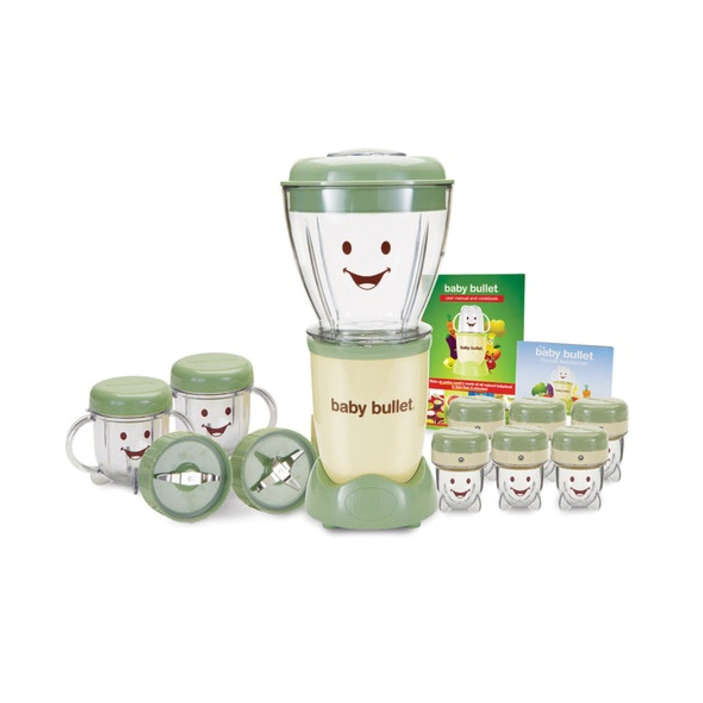 Magic Bullet Baby Bullet Baby Food Maker, 20-Piece Set