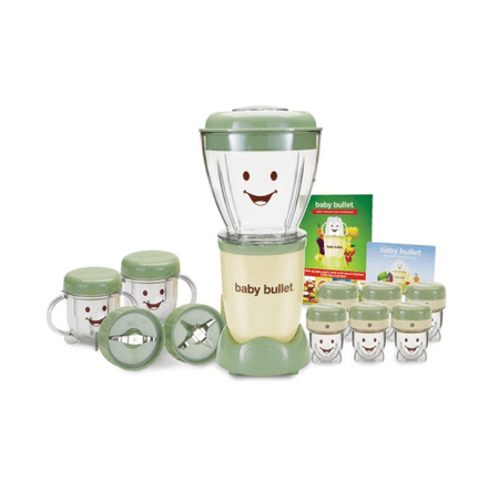 Baby Food Processor (Magic Bullet Baby Bullet Baby Food Maker, 20-Piece)