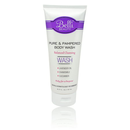Pure Baby Wash - Belli Pure and Pampered Body Wash, 6.5 Oz