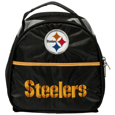 Pittsburgh Steelers NFL Single Add On Bag for Roller Bags Black/Gold