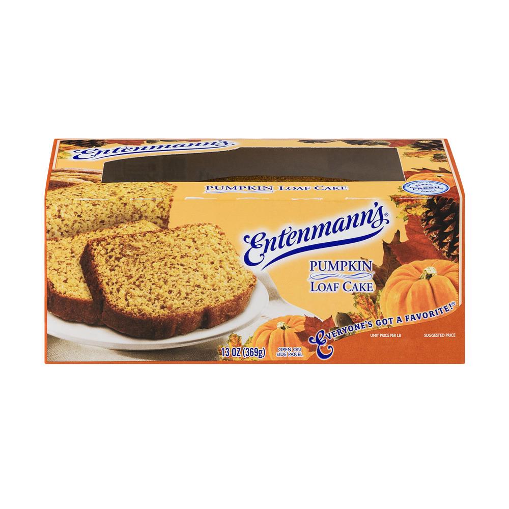 Entenmann's Pumpkin Loaf Cake, 13.0 OZ