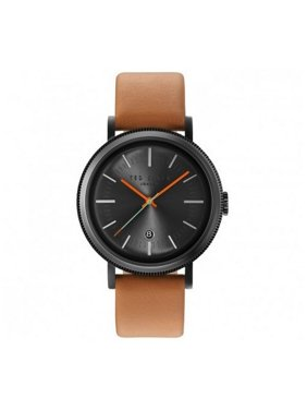 Ted Baker Men's Brown Leather Band With Grey Dial Watch 10031504